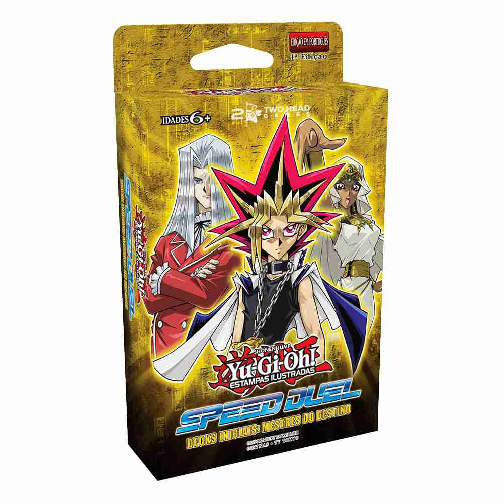 Yugioh Deck Inicial Speed Duel Mestres do Destino