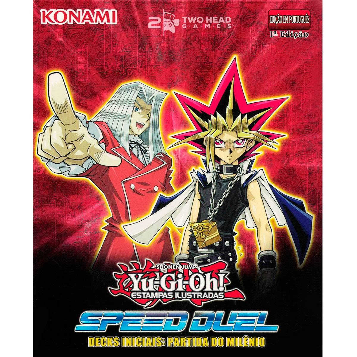 Yugioh Deck Inicial Yugi Pegasus Partida do Milenio Speed Duel