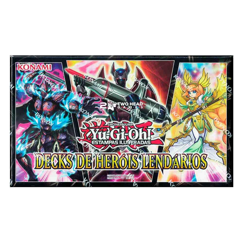 Yugioh Decks De Heróis Lendários - Legendary Hero Decks