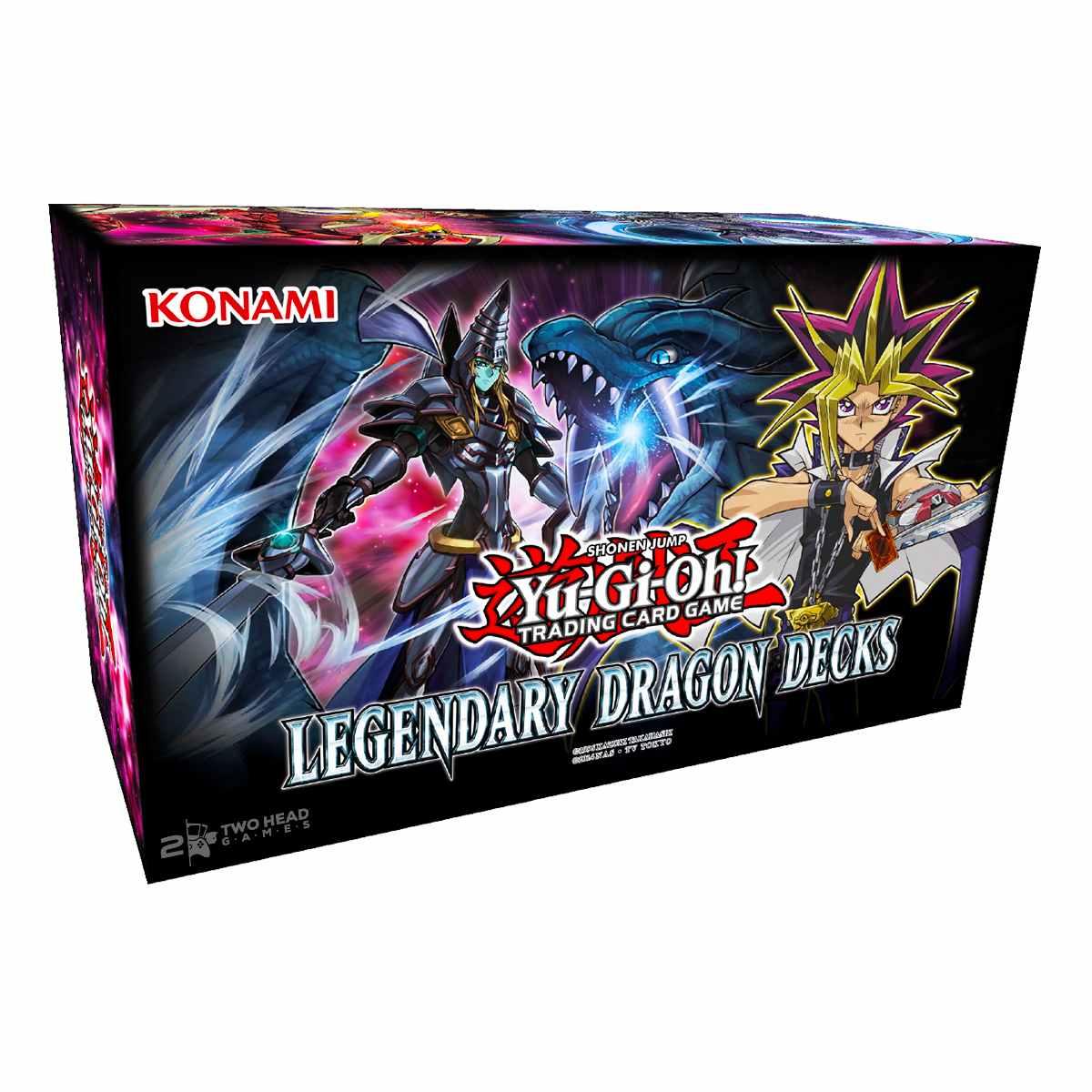 Yugioh Decks Dos Dragões Lendários
