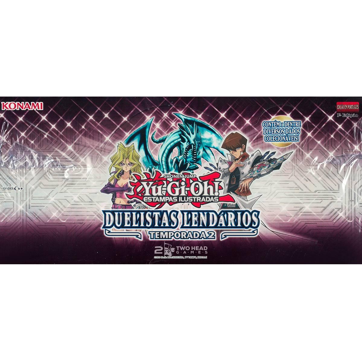 Yugioh Duelistas Lendários: Temporada 2 - Legendary Duelists