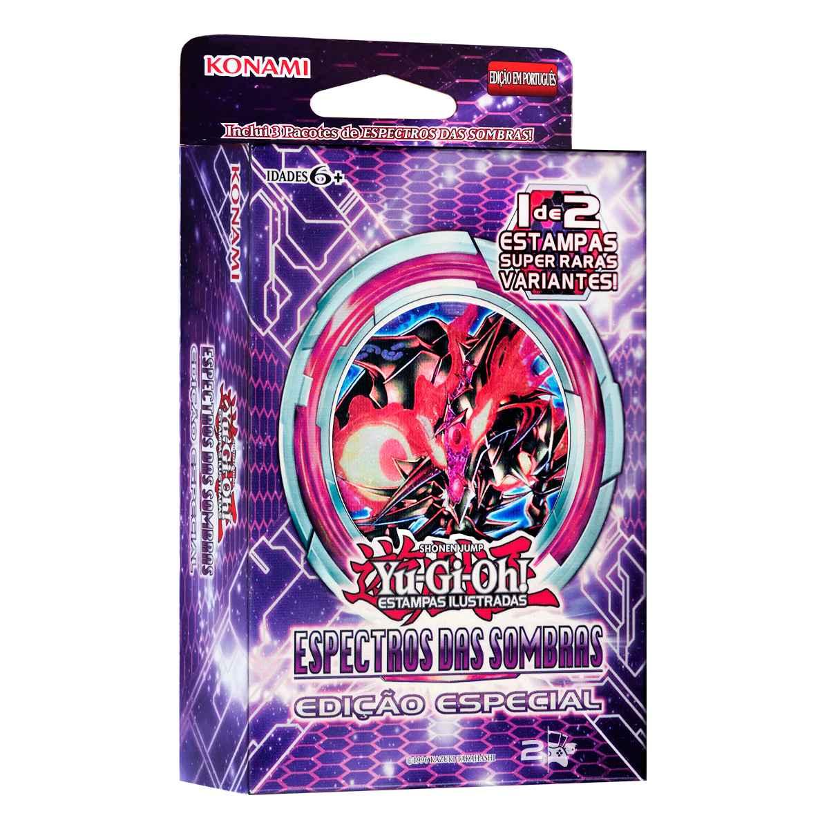 Yugioh Espectro das Sombras Edição Especial Booster