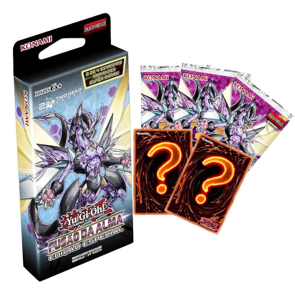 Yugioh Fusão da Alma Box Booster Edição Especial