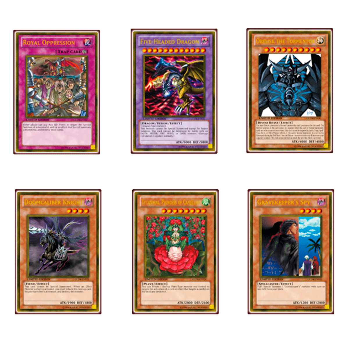 Yugioh Gold Series 4: Pyramids Edition Special Inglês