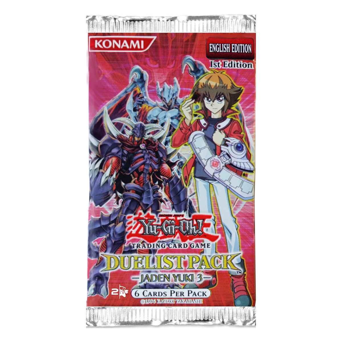 Yugioh GX Booster Duelist Pack Jaden Yuki 3