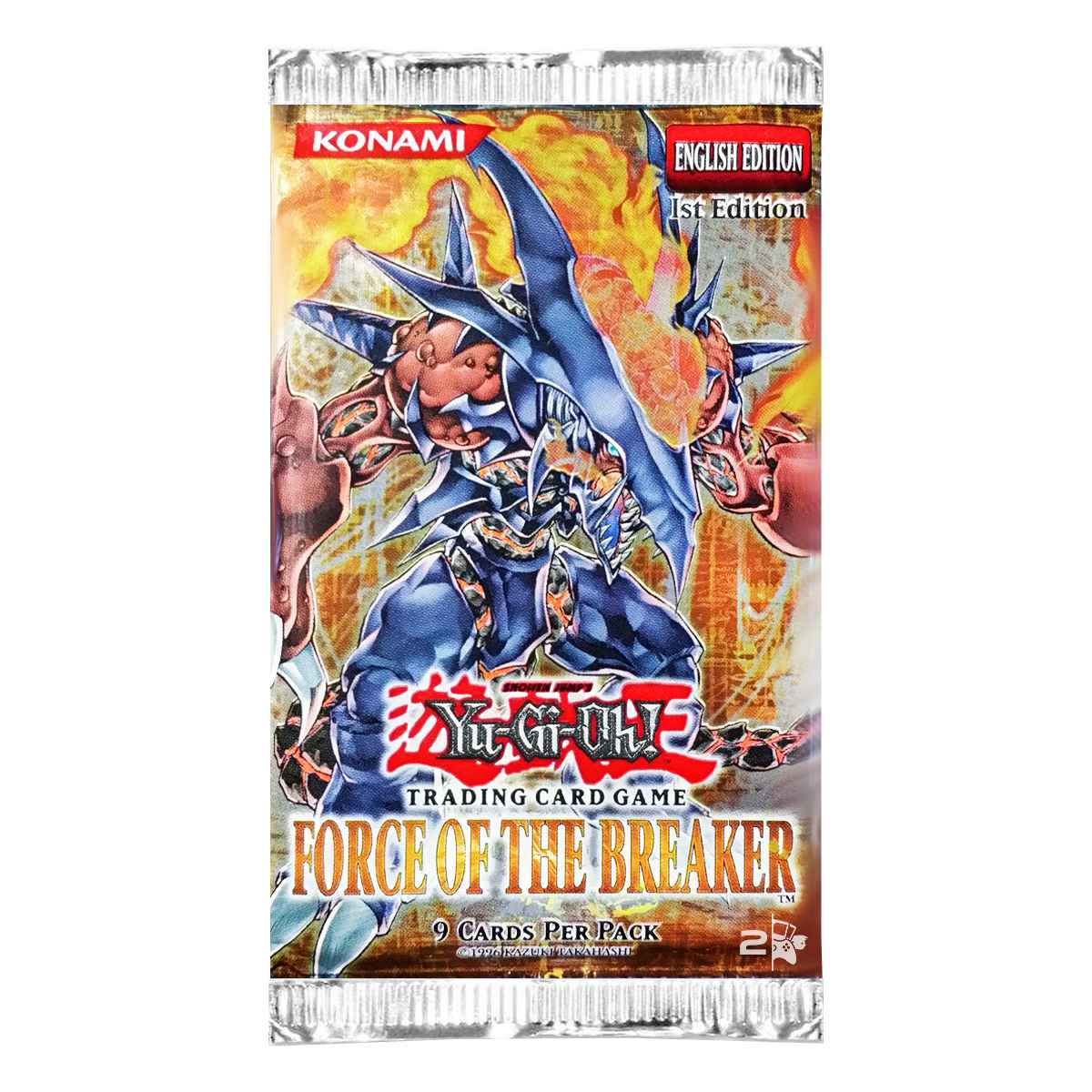 Yugioh Gx Booster Force of the Breaker Inglês