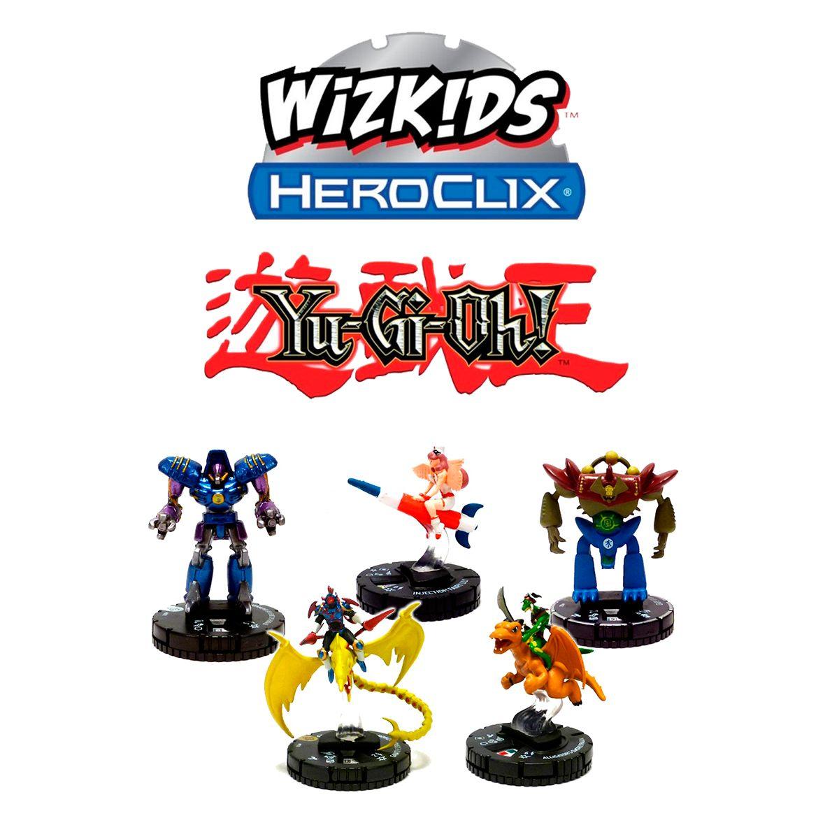 YuGiOh Heroclix Série 1 - Booster Miniatura