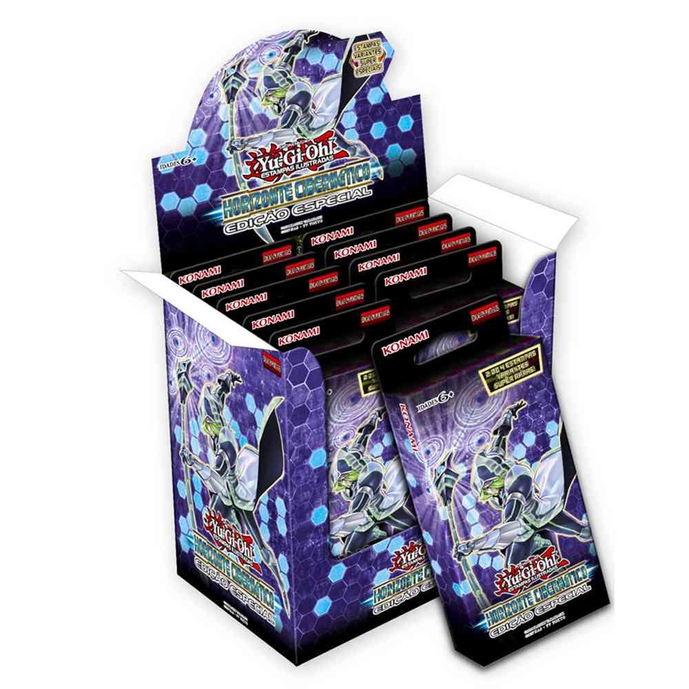 Yugioh Horizonte Cibernético Box Booster Edição Especial