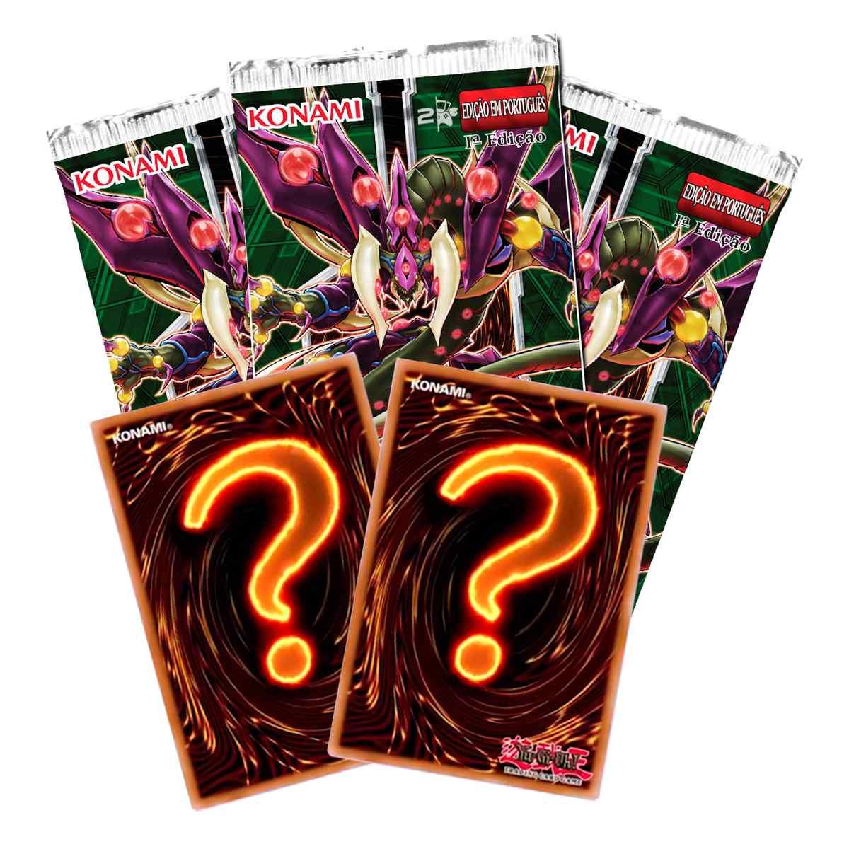 Yugioh Invasão Vingança Edição Especial Booster