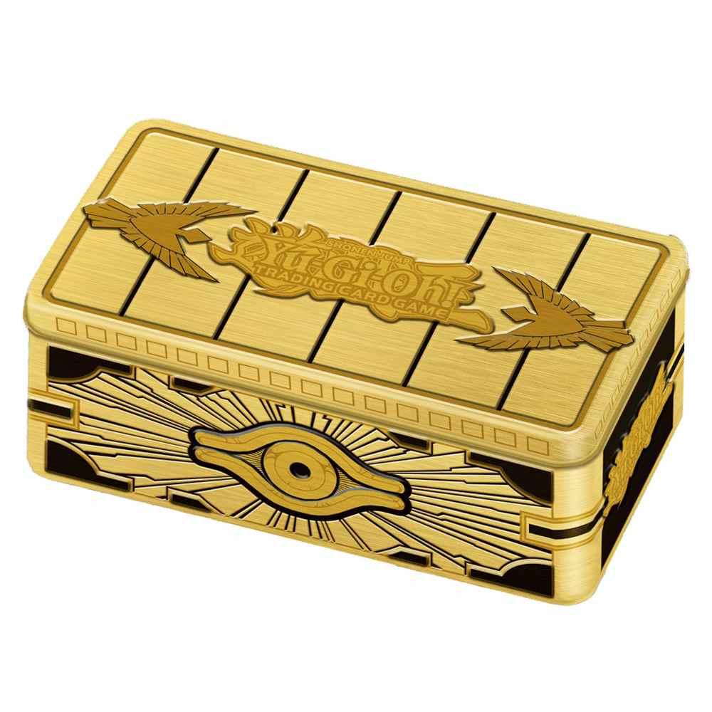 Yugioh Lata Sarcófago Dourado 2019 - Gold Sarcophagus Tin