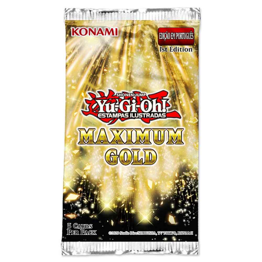 Yugioh Maximum Gold Edição Especial