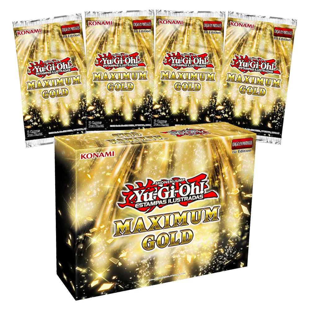 Yugioh Maximum Gold Ouro Máximo - Edição Especial