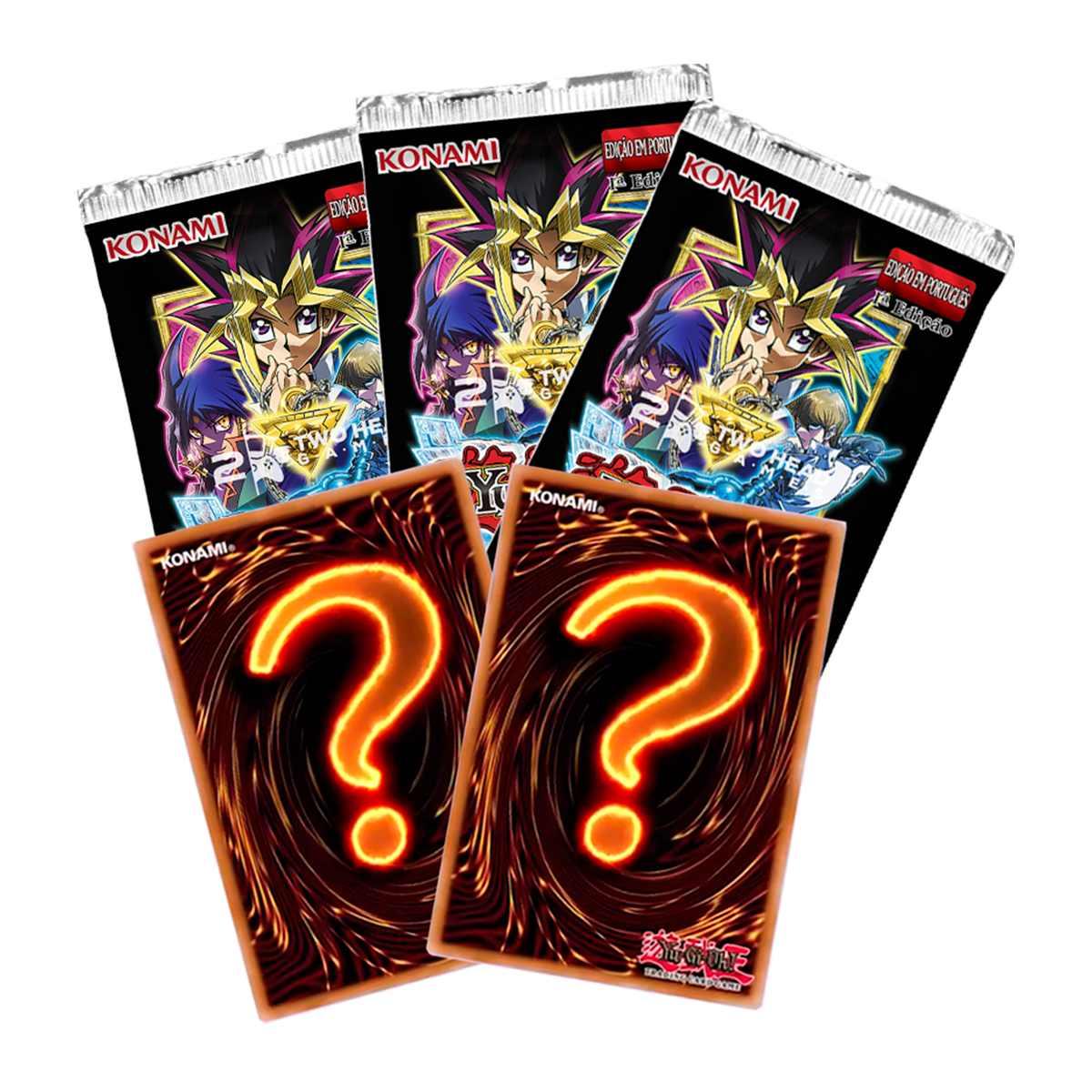 Yugioh Movie Pack Edição Especial Secreta Booster