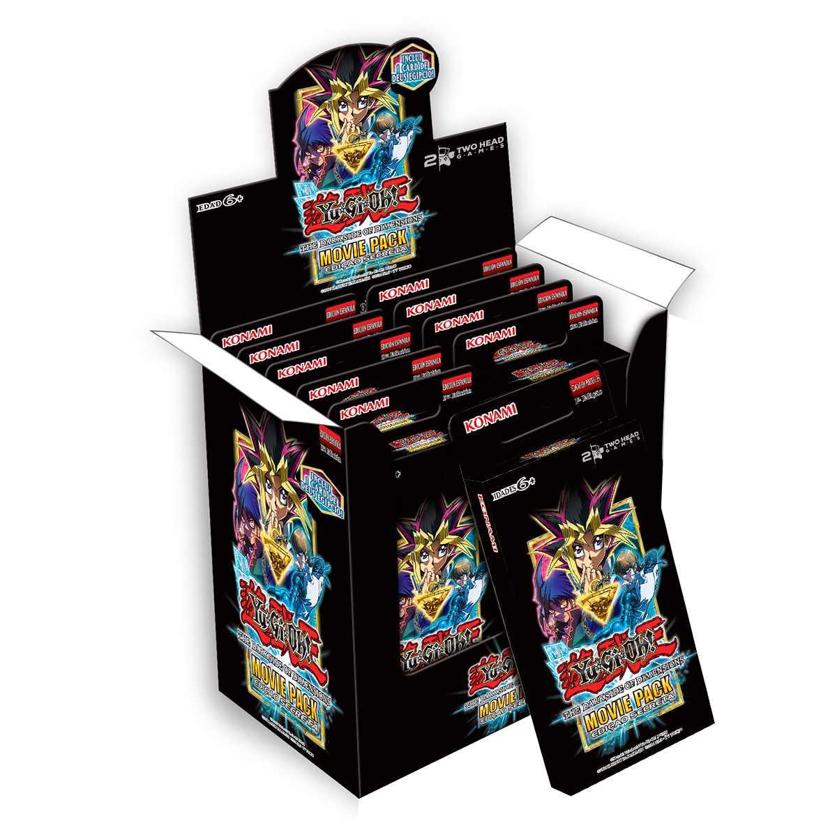 Yugioh Movie Pack Edição Especial Secreta Box Booster