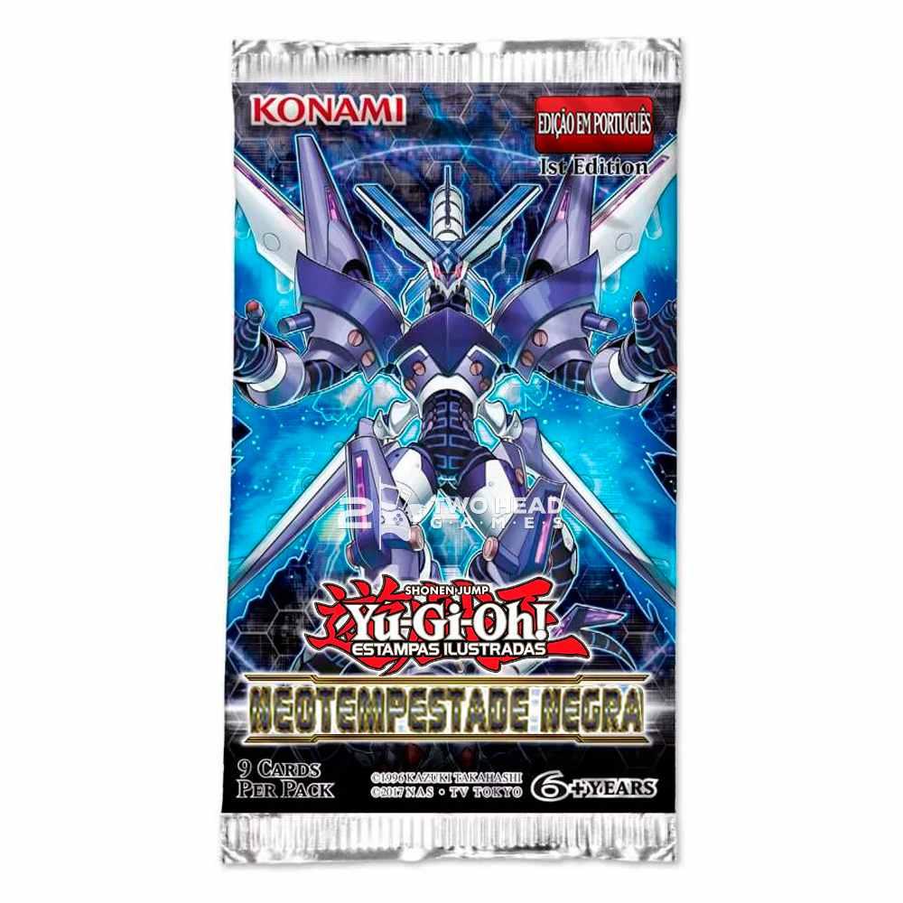Yugioh Neotempestade Negra Edição Especial Booster