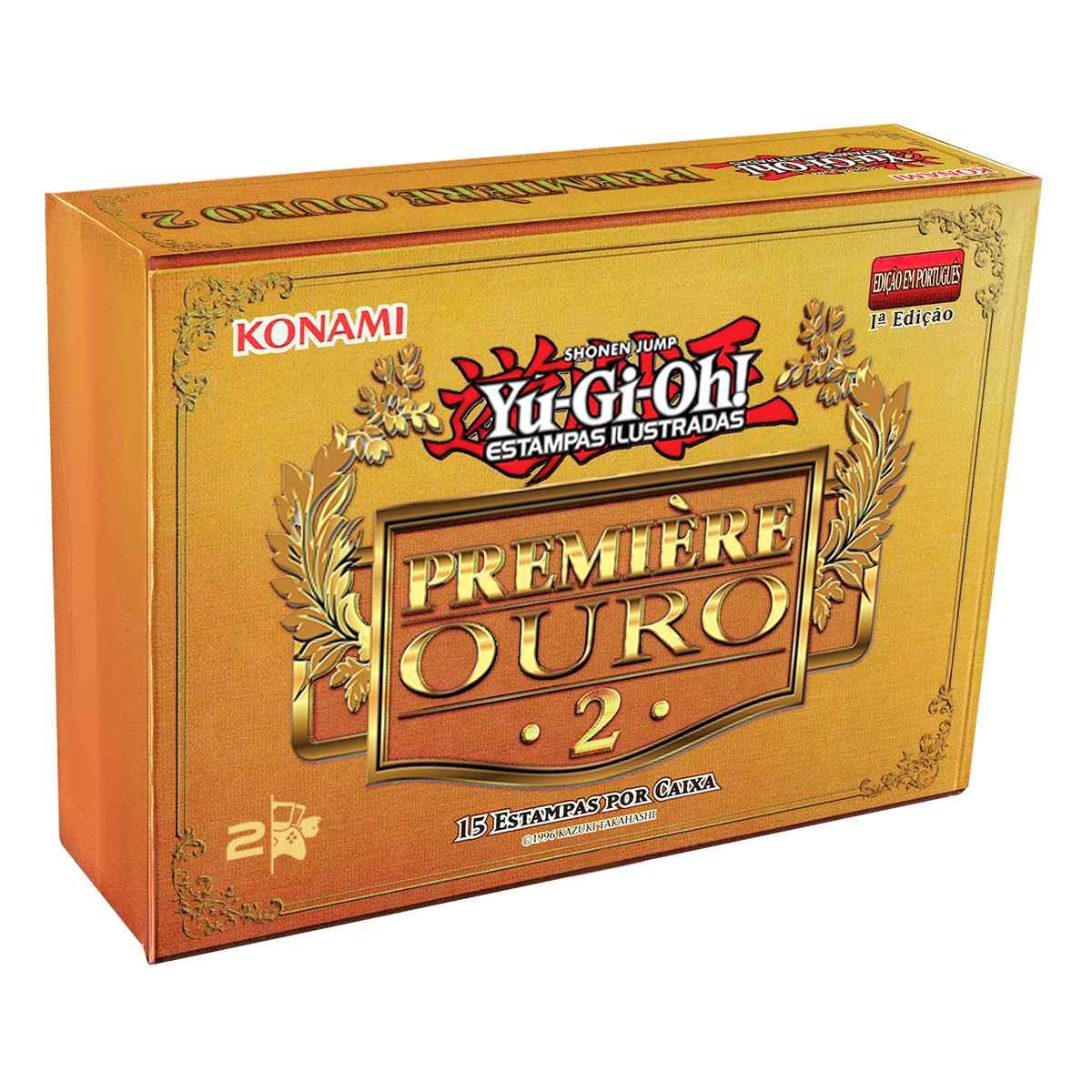 Yugioh Premiere Gold 2 Um Mar de Ouro Booster