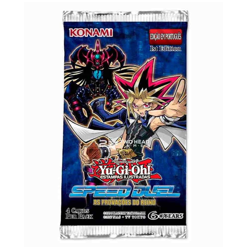 Yugioh Speed Duel Booster As Provações do Reino
