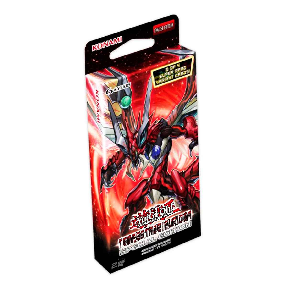 Yugioh Tempestade Furiosa Booster Edição Especial