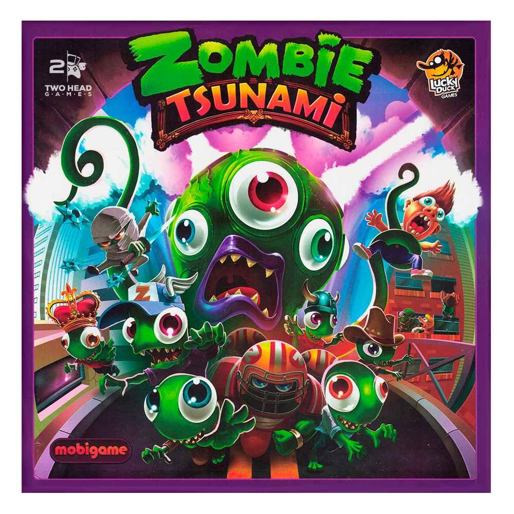 Zombie Tsunami Jogo de Tabuleiro