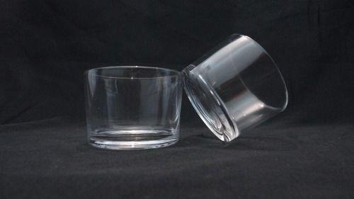 Pote De Vela Vidro Copo Pequeno Para Velas Porta Velas 48un
