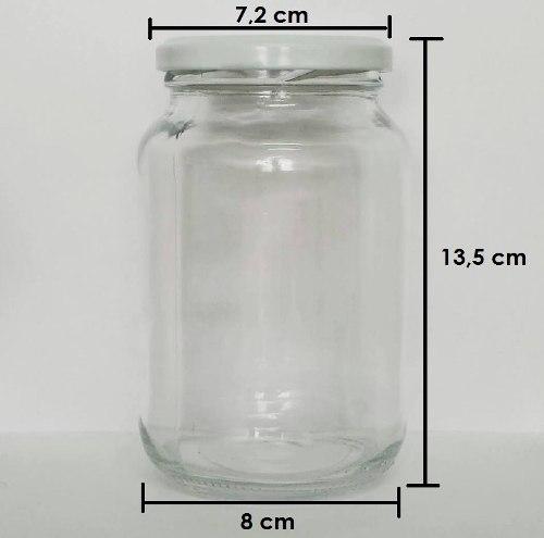 Pote de Vidro Conserva 600ml - Caixa com 15 unidades