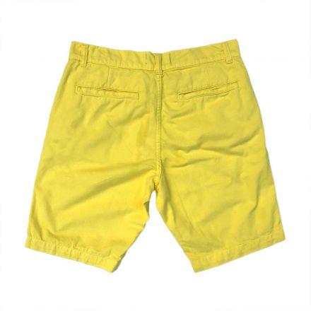 Bermuda Sarja Amarela Alto Verão