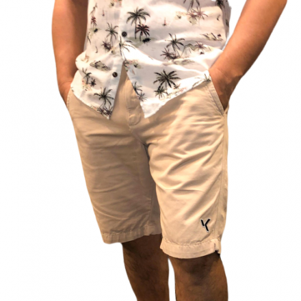 Bermuda Sarja Bege Verão 2018
