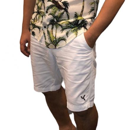 Bermuda Sarja Branca Verão 2018