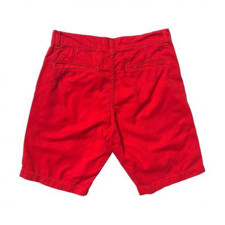 Bermuda Sarja Vermelha Alto Verão