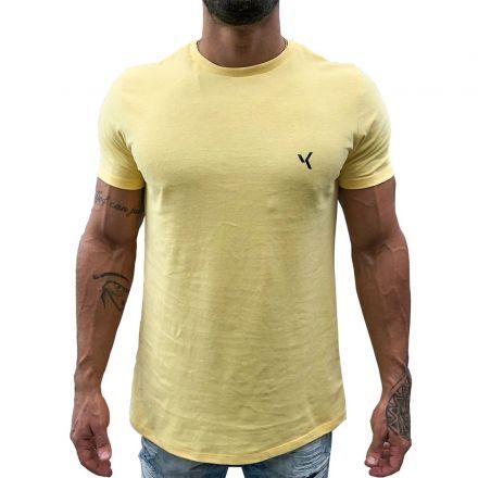 Camiseta Básica Amarela