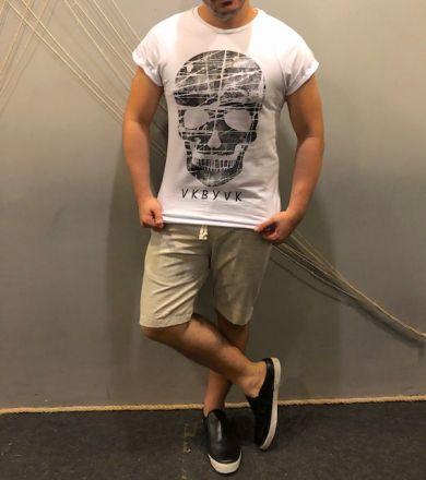 Camiseta Manguita Skull