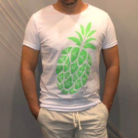 Camiseta Pineapple Neon