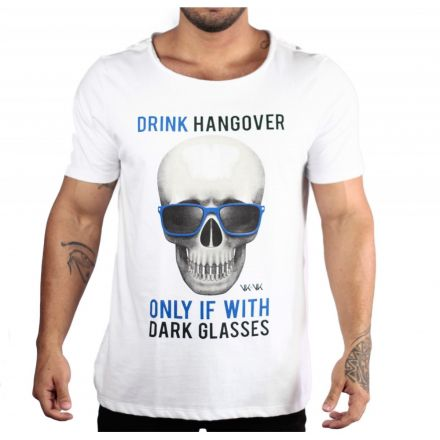 Camiseta Skull Glasses