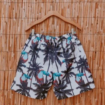 Short Tactel Tropical Tucanos
