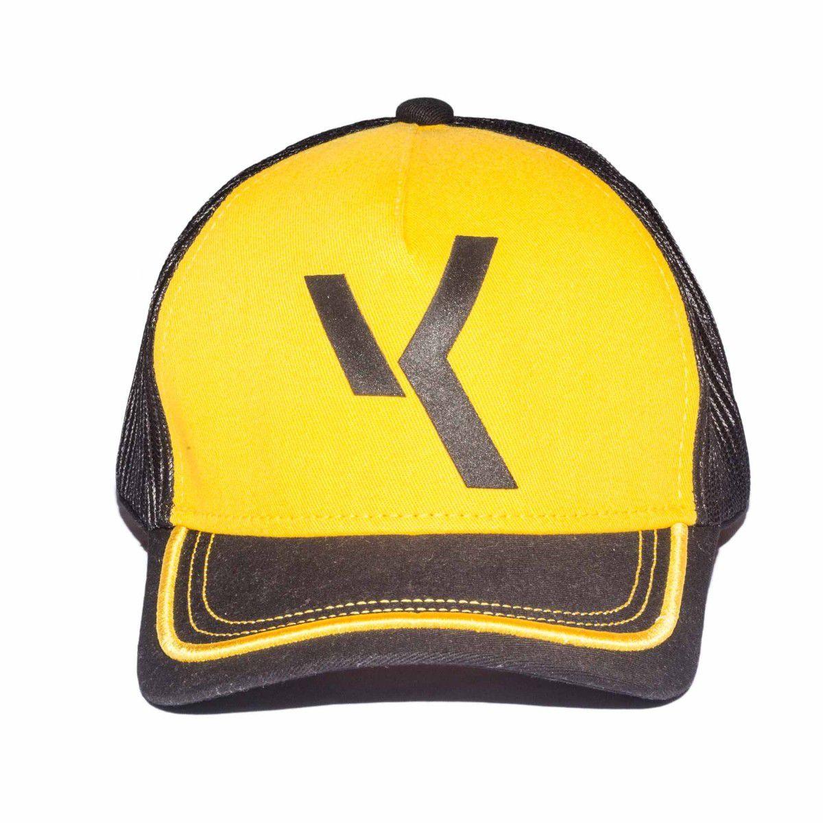 Boné Amarelo com Preto VK BY VK