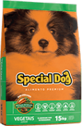 Special Dog Vegetais  Júnior  - 15 kg