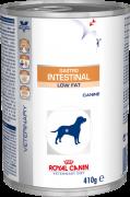 Royal Canin Gastro Intestinal Low Fat Canine - Alimento úmido - lata 410 gr