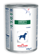 Royal Canin Obesity Management - Alimento úmido - lata 410 gr