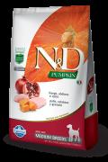 Ração N&D Natural & Delicious Pumpkin - Frango e Romã (Raças Médias)  - 10,1kg