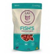 Petisco Luopet Cat Menu Fish 40g