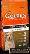 Ração Golden Fórmula Adultos Carne & Arroz 15kg