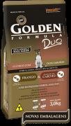 Ração Golden Fórmula Duo Cães Adultos Pequeno Porte Frango & Carne - 3kg