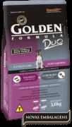Ração Golden Duo Cães Adultos Pequeno Porte Salmão com Ervas & Cordeiro e Arroz - 3 kg