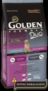 Ração Golden Duo Cães Adultos Salmão com Ervas & Cordeiro e Arroz 15kg