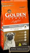 Ração Golden Light Cães Adultos Pequeno Porte - Frango e Arroz