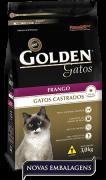 Ração Golden Gatos Castrados Frango