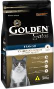 Ração Golden Gatos Castrados Sênior Frango - Acima 10 anos