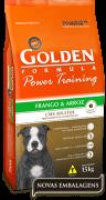 Ração Golden Power Training Adultos - Frango e Arroz  - 15kg