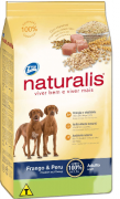Ração Naturalis Frango e Peru - Cães Adultos 20 kg