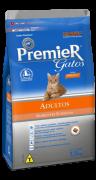 Ração Premier Gatos Adultos Ambientes Internos Frango